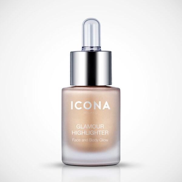 Glamour highlighter_gold_Icona make up