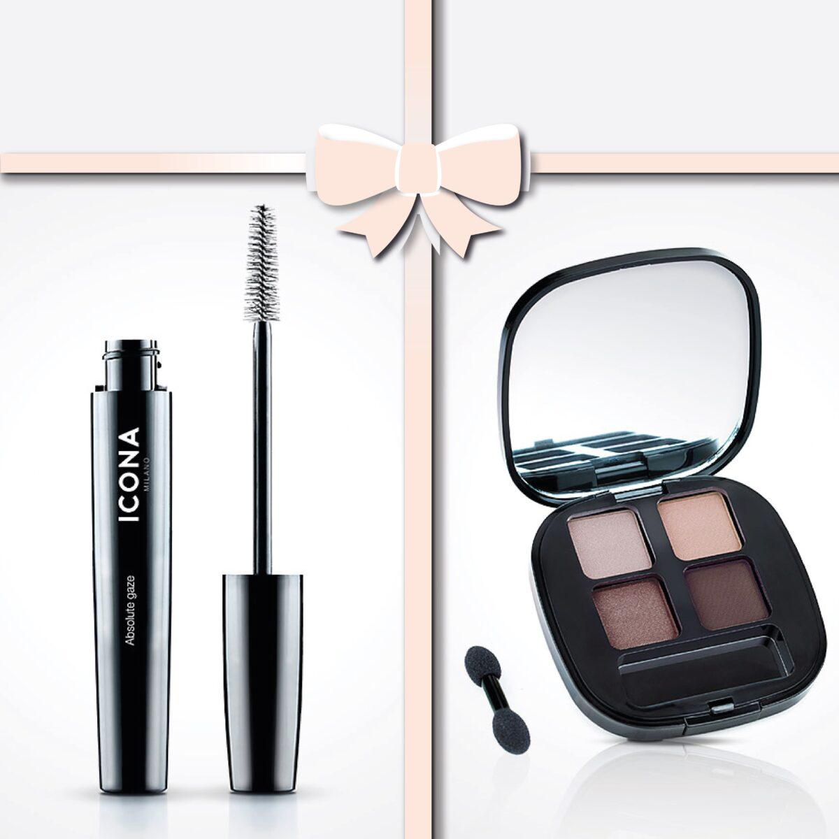 Promozione Mascara e palette essential chic brown Icona
